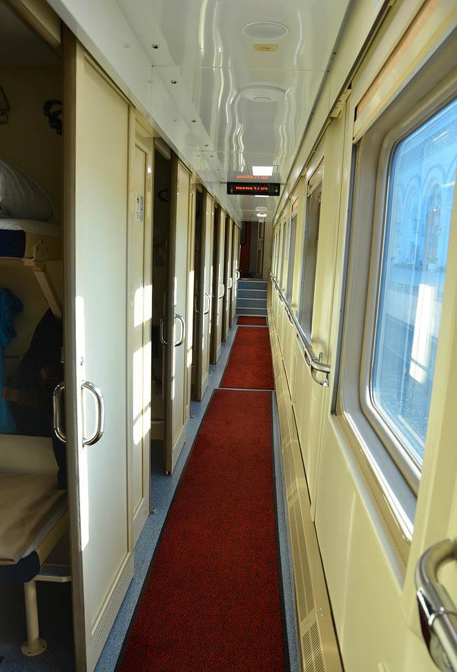 Двухэтажный фирменный поезд Северная Пальмира